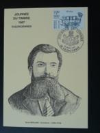 Carte Maximum Card Architecte René Mirland Journée Du Timbre 1987 Valenciennes 59 Nord (ex 2) - Architecture