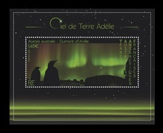 TAAF 2020 Mih. 1063 (Bl.76) Dawn Sky On Terre Adelie. Fauna. Penguins MNH ** - French Southern And Antarctic Territories (TAAF)