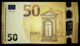 50 EURO P008H4 Netherlands DRAGHI Serie PB89 Perfect UNC - EURO