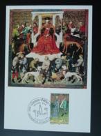 Carte Maximum Card Gaston Fébus Moyen Age Medieval Chasse Hunting 64 L'Hopital D'Orion 1991 - Maximumkarten
