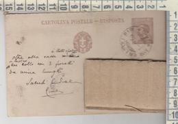 STORIA POSTALE 1930 LECCE ANNULLO AMBULANTE GALLIPOLI  BARI FRAZIONATO - 1900-44 Vittorio Emanuele III