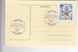 DOPISNICA --  ZNANSTVENI SKUP U POVODU 50 - GOD. POBUNE HRVATSKIH VOJNIKA U FRANCUSKOJ ( HANDZAR DIVIZIJA )    --   1993 - Kroatien