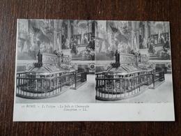 L23/361 Rome - Carte Stéréoscopique - Le Vatican - La Salle De L'Immaculée-Conception - Musées