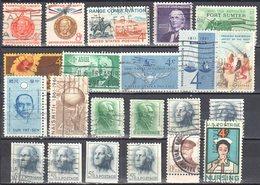 United States 1961 Year Set - Mi.804-819 Used - Años Completos