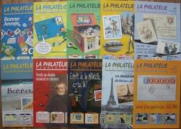 REVUE LA PHILATELIE FRANCAISE Année 2001 Complète (n° 554 à 563) - Magazines