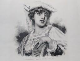 ILLUSTRAZIONE ITALIANA 1885 LA CIOCIARA ZAMPOGNARI IN BRIANZA I BENEDETTINI A NAPOLI - Altri