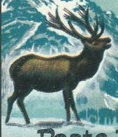 ITALIA 1967 PARCHI NAZIONALI Varietà 90 Lire Cervo Doppie Corna, MNH Nuovo Sassone 645Aa - Variedades Y Curiosidades