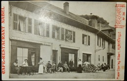 73 CPA ALBERTVILLE CAFÉ RESTAURANT NABEL - Albertville