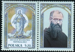 Poland 2017 100 Years Of The Knights Of The Immaculata St. Maximillian Maria Kolbe MNH** - Unused Stamps