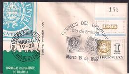 Uruguay - 1965 - FDC - Échantillon Philatélique Rioplatense - Uruguay