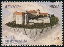 Poland 2017 Europa CEPT The Castle Of Pieskowa Skala MNH** - Unused Stamps