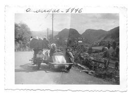 Moto 1946 Photo 6x9 - Personas Anónimos