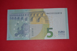 5 EURO M004 F1 PORTUGAL M004F1 - Serial Number MA2335332818 - UNC FDS NEUF - EURO