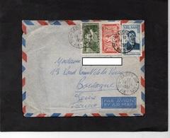 LAC 1951 - Cachet SAIGON - SUD VIETNAM  Et Timbres - Vietnam
