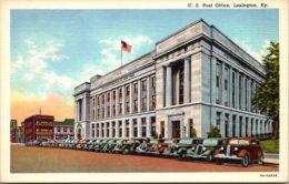 Kentucky Lexington Post Office Curteich - Lexington