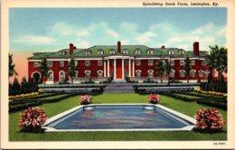 Kentucky Lexington Spindletop Stock Farm Curteich - Lexington