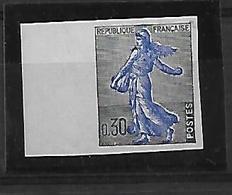 France  N°1234A** Non Dentelé . - Francia