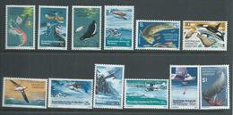 Australian Antarctic Territory AAT 1973 Definitive Set Of 12 MNH - Unused Stamps
