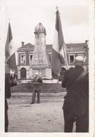 14 BALLEROY Photo Originale 14 Juillet 1944 Discours Du Maire Monument Aux Morts WW2 - 1939-45