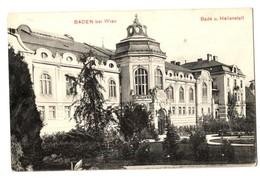 1912 -  Baden Bei Wien - Bade Und Heilanstalt - Baden Bei Wien