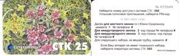 Phonecard   Russia. Uzno-Sakhalinsk STK- 25  Units - Russia