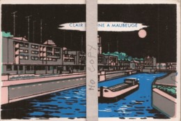 Clair De Lune à Maubeuge (carte Velour) - Maubeuge