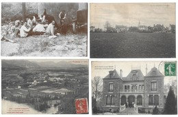 Lot De 400 Cartes Postales France/Etranger/Fantaisies...Format CPA - Postkaarten
