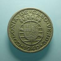 Portuguese Cabo Verde 1 Escudo 1949 - Portogallo