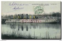 Rochefort Sur Mer - Arsenal Le Davoust - Croiseur En Reserve - Paquebot - Steamer - CPA - Rochefort