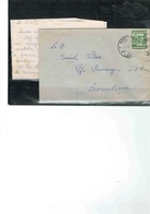 CARTA DE AMOR De BARCELONA ANDORRA Sin  CENSURA ESPAÑOLA 1945 - Cartes