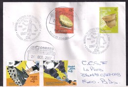 Argentina - 2007 -  Cachets Spéciaux - Coupe Du Monde De Soccer U20 - Canada 2007 - Storia Postale