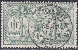 New Hebrides, Scott #17, Used, Idol, Issued 1911 - English Legend