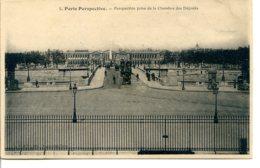 75007 - PARIS Perspective - Perspective Prise De La Chambre Des Députés - Pont De La Concorde Et Obélisque - édit. LJ - Paris (07)