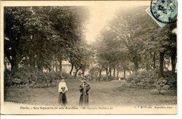 75008 - PARIS - Ses Squares Et Ses Jardins - Square De Laborde (maintenant Henri-Bergson) - édit. LJ - Paris (08)