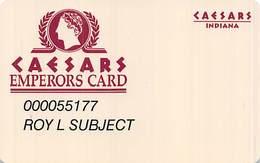 Caesars Casino Corvdon, IN Slot Card - Tarjetas De Casino