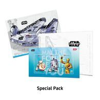 Malaysia 2019 Star Wars Personalized Stamp Special Pack MNH Space Robot Cinema War - Cinema