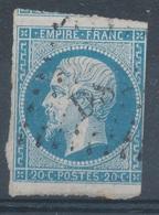 N° 14 OBLITERATION ETOILE DE PARIS. - 1853-1860 Napoléon III.