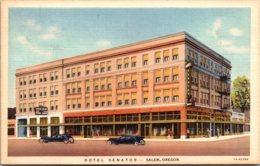 Oregon Salem Hotel Senator Curteich - Salem