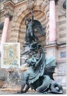 France 2019 - Fontaine Saint Michel,Paris Maximum Card - Croce Rossa