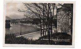 25 - BESANÇON - Vue Générale Des Quais, Tour De La Pelote- Pont Battant Et Fort De Rosemont  (M16) - Besancon