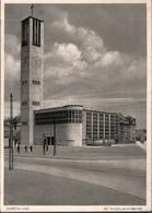 ! S/w Ansichtskarte  Dortmund, St. Nicolaikirche, Moderne Architektur, Eglise, Architecture - Dortmund