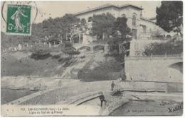 SAN-SALVADOUR - LA JETEE - BIEN ANIMEE - 1912 - Frankrijk