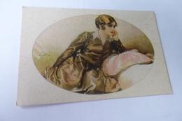 BELLE ILLUSTRATION....BELLE JEUNE FEMME - 1900-1949