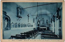 51ez 745 CPA - BRAY SUR SOMME - MAISON DES OEUVRES - LA CHAPELLE DE SAINT JEAN D'ARC - Bray Sur Somme