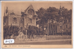 ROYAN- VILLA CHRISTIANE - Royan