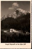 ! S/w Ansichtskarte Berghof, Wachenfeld, Haus Von Adolf Hitler - Berchtesgaden