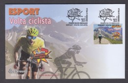 4.- SPANISH ANDORRA 2019 FDC CLYCLING IN ANDORRA - LA PURITO - Cycling