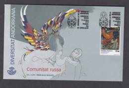 1.- SPANISH ANDORRA 2019 FDC RUSSIAN COMMUNITY IN ANDORRA - Otros