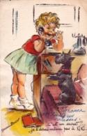 Illustrateur - Germaine Bouret - C Est Un Secret - Decoupis - Ajoutis Et Paillettes - Bouret, Germaine