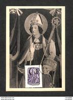 AUTRICHE - OSTERREICH - Carte Maximum 1950 - Altarbild Aus Der Gebharskapelle Im Münster Zu Konstanz - Saint Gebhard - Maximumkaarten